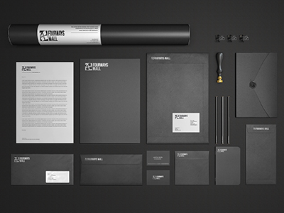 Amorphous Digital Agency corporate identity & branding Services