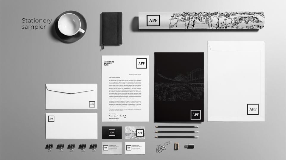 Amorphous_corporate identity design_visual identity_website development