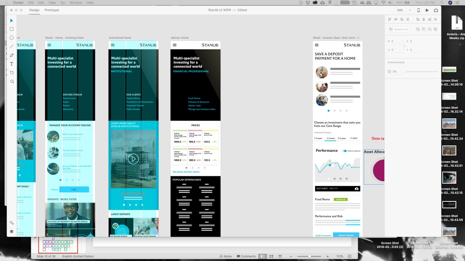 Amorphous_Design & customer experience_Web development_Stanlib asset managers