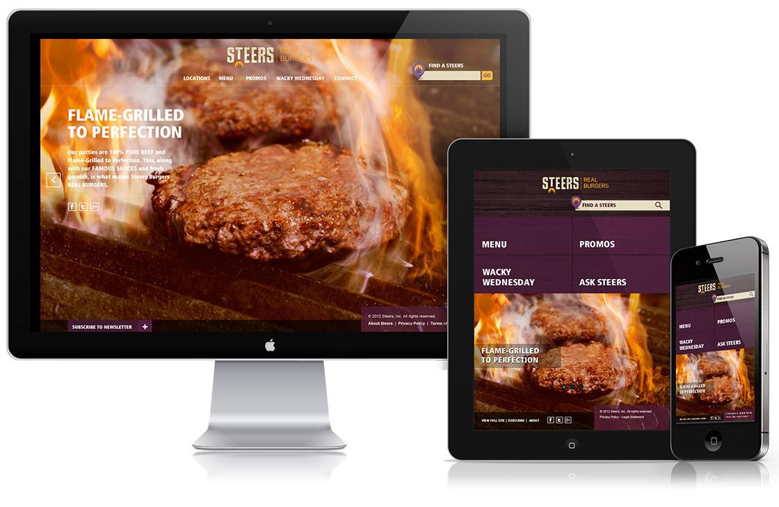 Amorphous_responsive website_Mobile app_digital agency services_Steers
