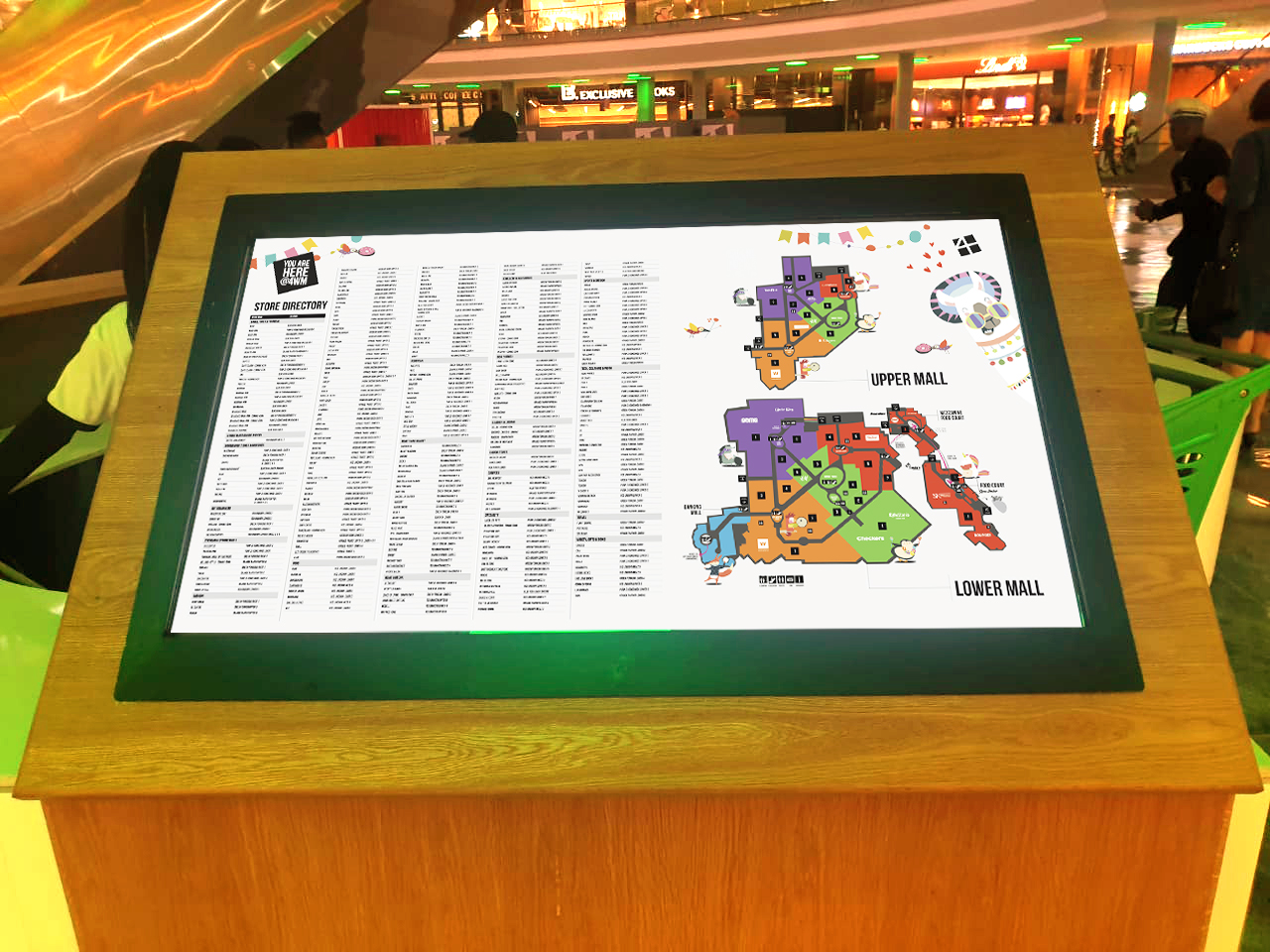 Amorphous_customer experience design_in-mall navigation_brand campaign_Fourways Mall